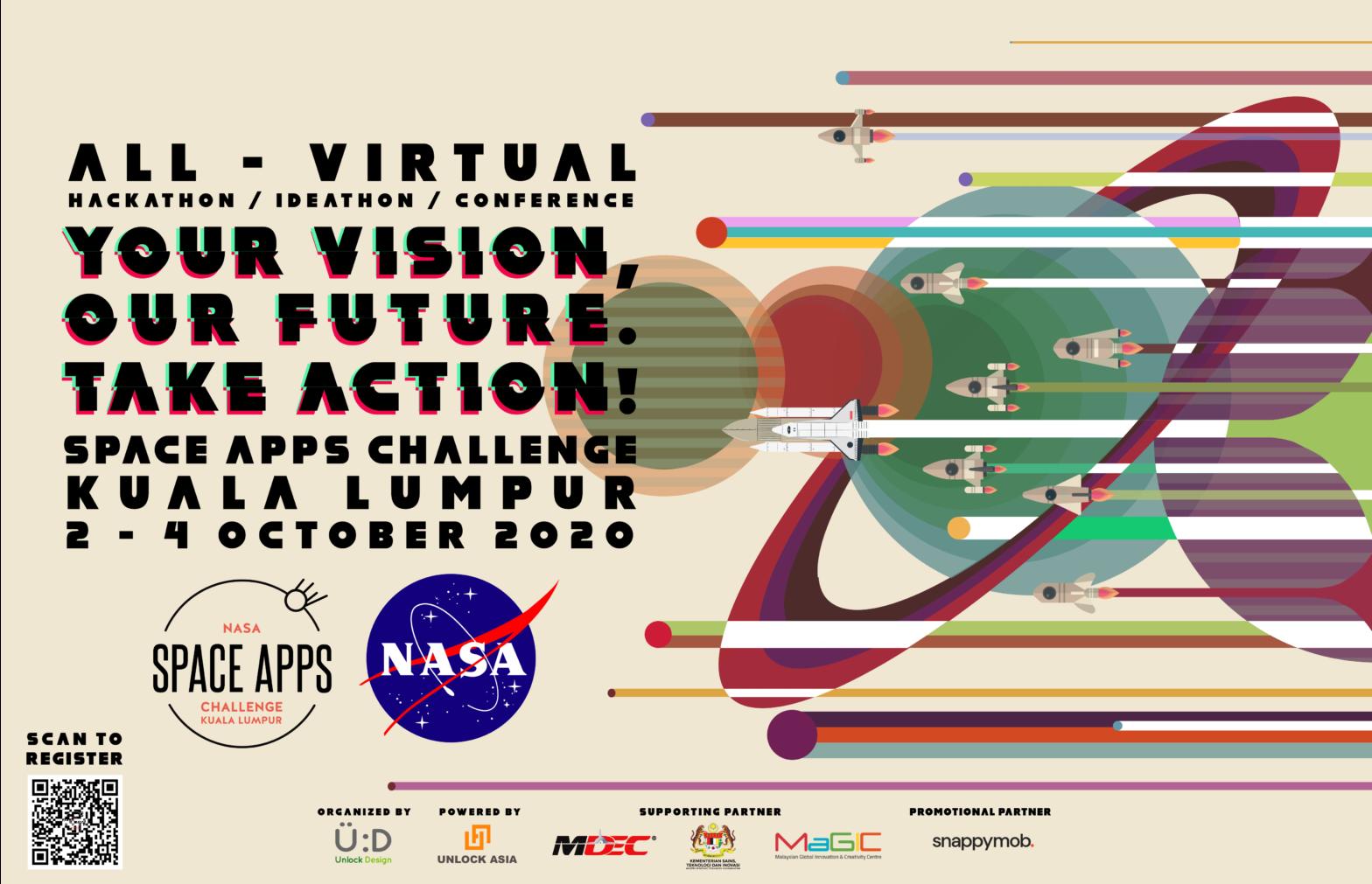 NASA Space Apps Challenge Kuala Lumpur 2020 Is Back!