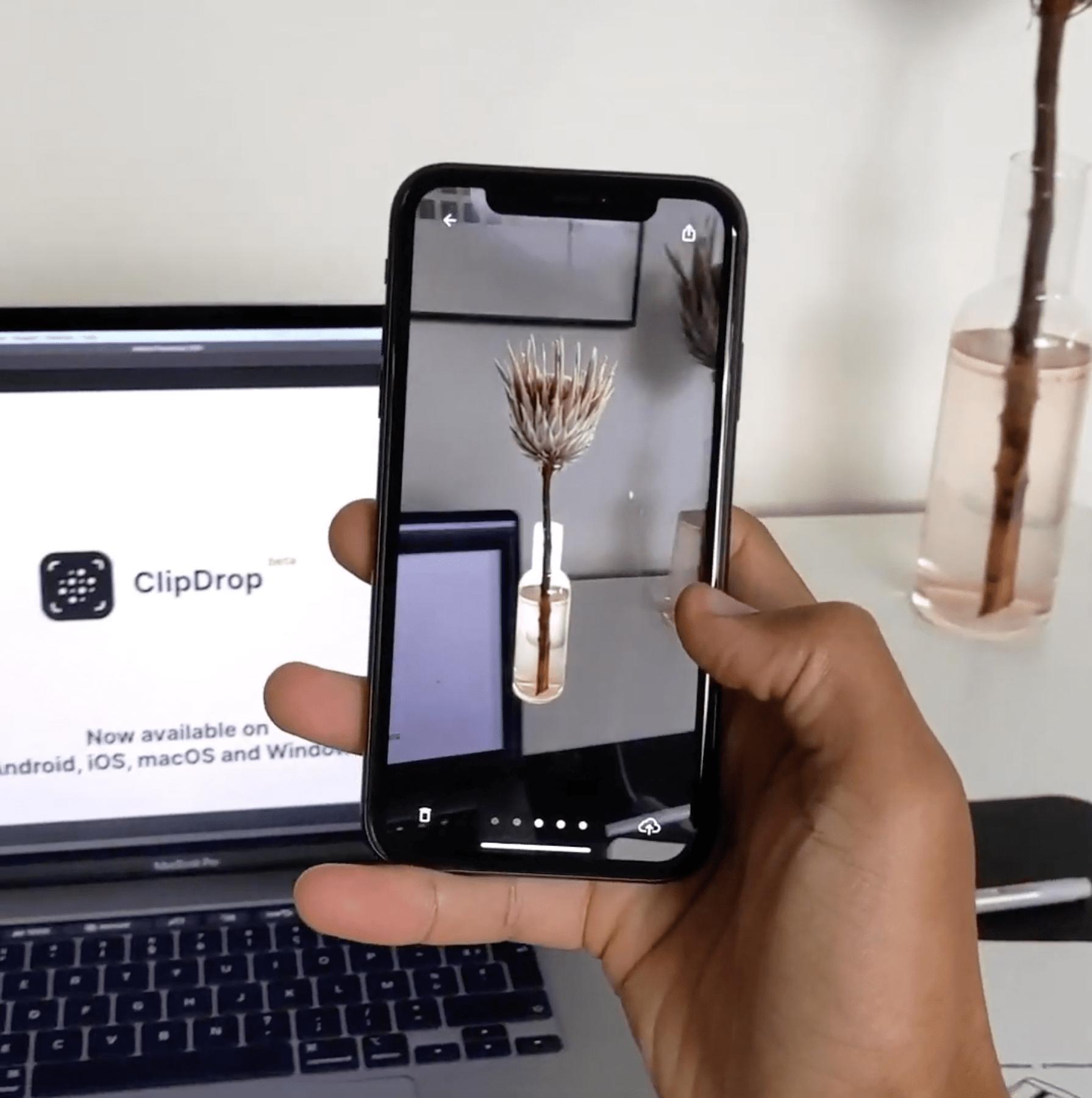 clipdrop app copy paste process video screenshot