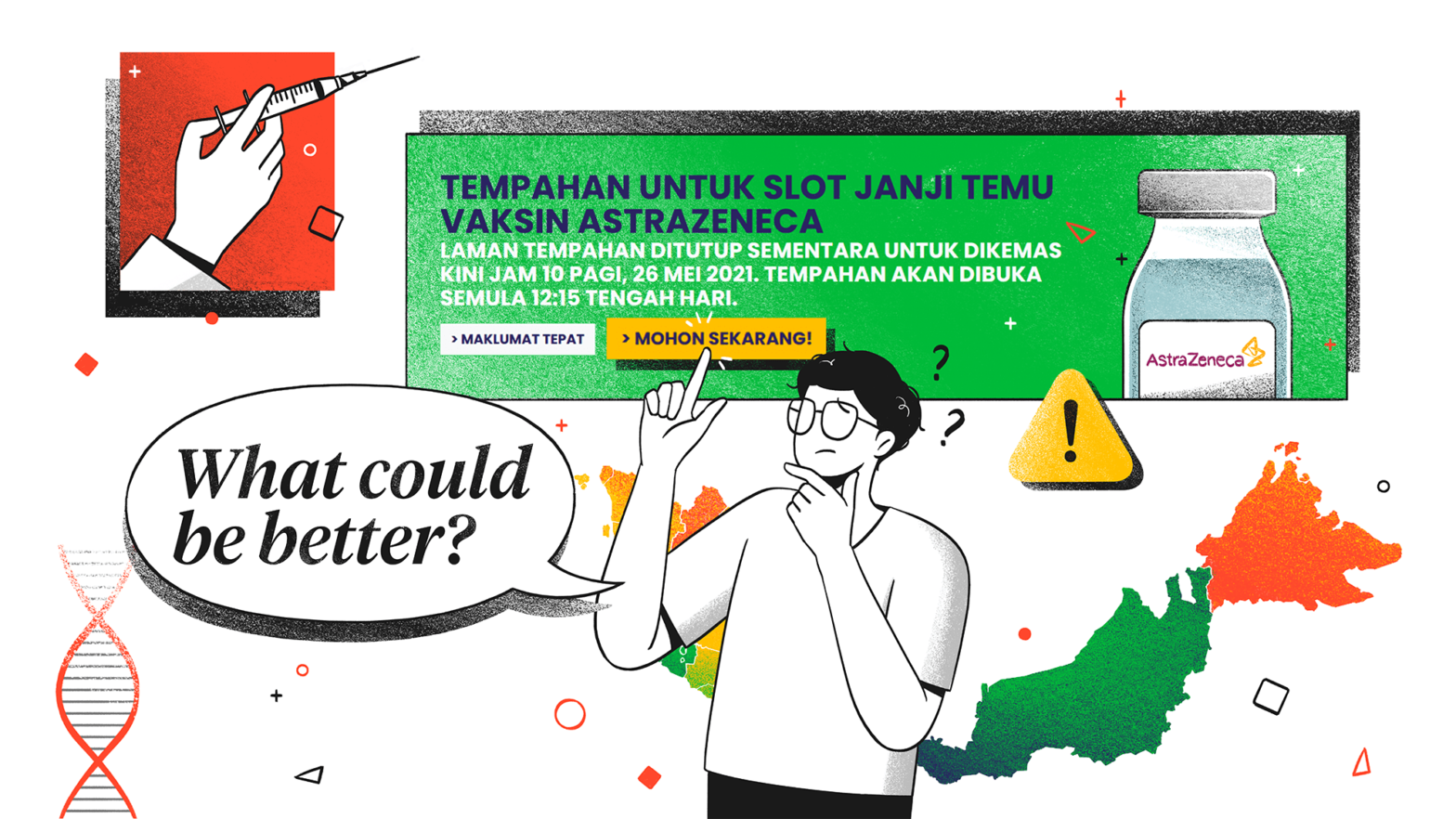 """JKJAV Malaysia Vaccine Supply Official Website Review """"What could be better?"""""""